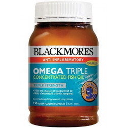 Blackmores Omega Triple Concentrated Fish oil 150 cap