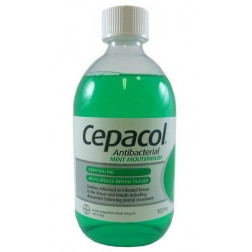 Cepacol Soln Mint 500Ml