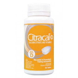 Citracal+D 100 Tablets