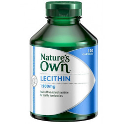 Nature's Own Lecithin 1200mg - 100 Capsules