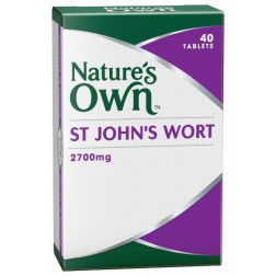 Nature's Own St John's Wort 2700 Tablets x40