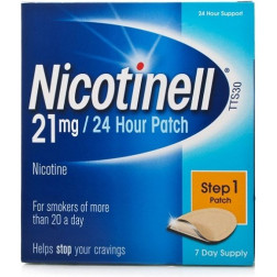 NICOTINELL 21MG PATCHES X7