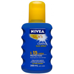 Nivea Sun SPF 15 Caring Sun Spray 200ml