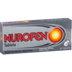 Nurofen Tablets 200Mg  12