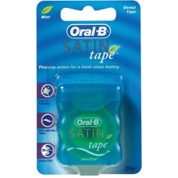 Oral B Satin Tape Mnt 25M