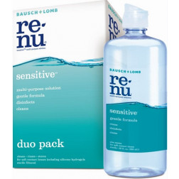 B&L Renu Sensitive Duo Pack 2 x 355mL