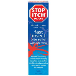 Stop Itch Plus First Aid Cream 50g