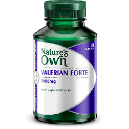Nature's Own Valerian Forte 2000 X60Tabs