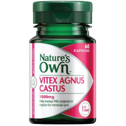 Nature's Own Vitex Agnus Castus 1000mg 60 Caps