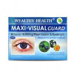 Wealthy Health Maxi- Visual Guard - 60 Capsules