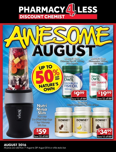 Awesome August Catalogue