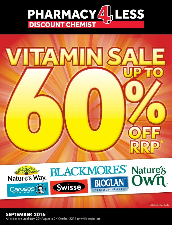 up to 60% Off Vitamins