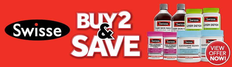 Swisse Special, Buy 2 and Save!